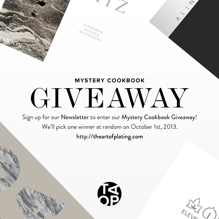 Mystery Cookbook Giveaway