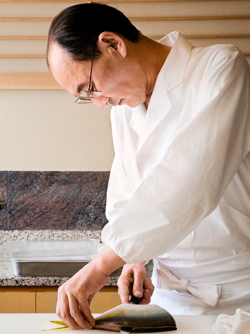 Portrait of Hichiro Mizutani © Richard Haughton