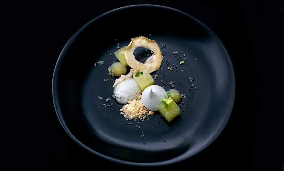 Melon and cream fraiche © Eurkea 89