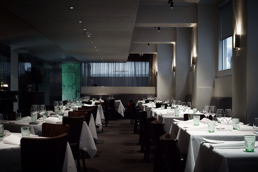 Interior of Ezard © Ezard