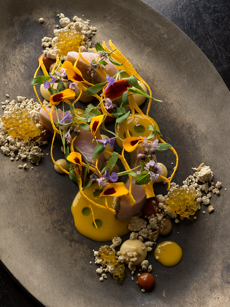 Destination guide chicago restaurants the art of plating for Cuisine alinea
