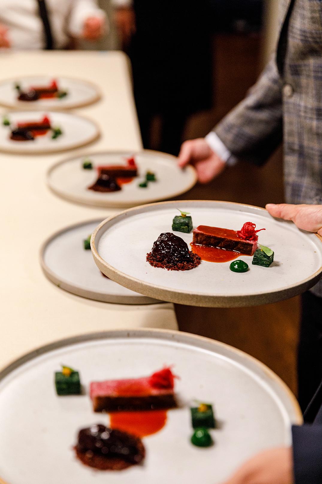 Beef at The Art of Plating x SingleThread x Olivier Bernstein dinner © Nader Khouri