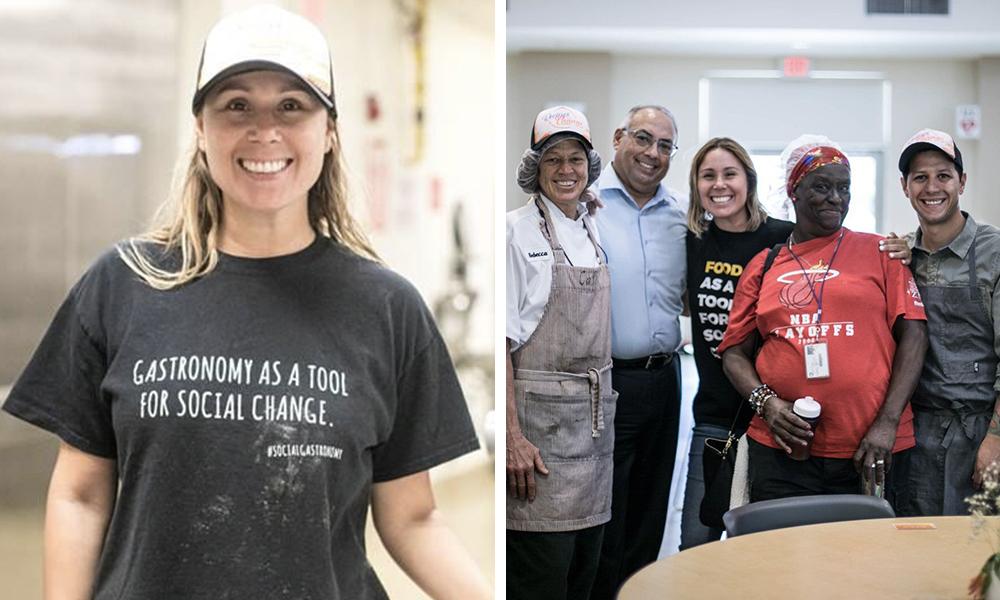 Camila Basmagi of Recipes for Change, Miami, FL